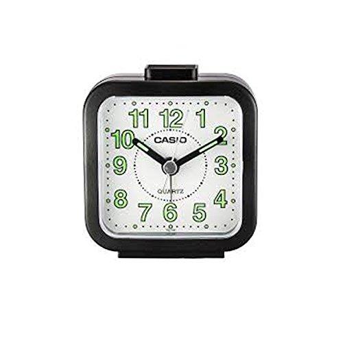 Casio TQ141-1 Beep Alarm Clock Black