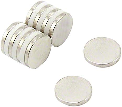 5 X 8mm x 1mm Magnets battery magnet Spacer Convert Flat Button