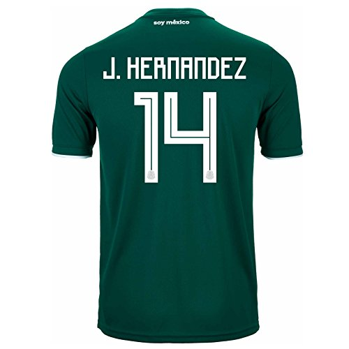 - adidas J. Hernandez # 14 Mexico Home Soccer Stadium Men's Jersey World Cup Russia 2018 (XL)