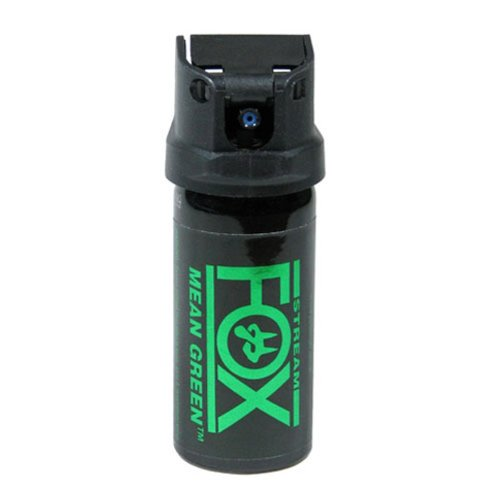 - Fox Labs FX156 MGS Mean-Green 1.5 Ounce (42 Grams) 6% H2OC Stream Pepper Spray