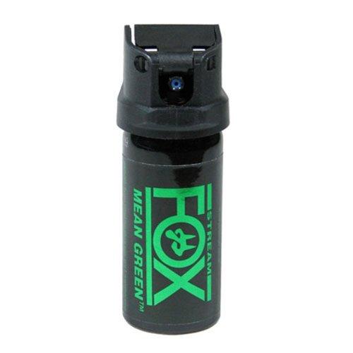 Fox Labs FX156 MGS Mean-Green 1.5 Ounce 42 Grams 6 H2OC Stream Pepper Spray