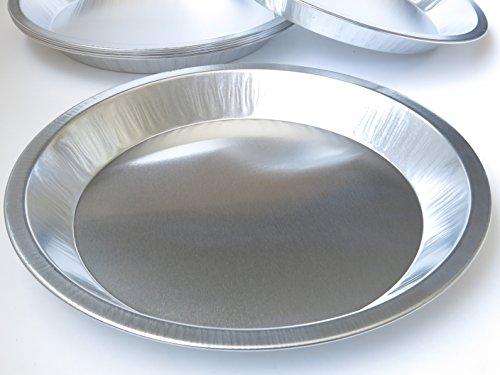 Heavy Duty Reusable/Disposable 9 1/2 inch Aluminum Pie Pans- #310 (200)