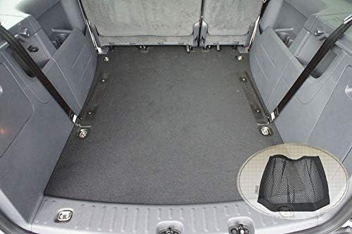 Zentimex Z3124741 Gummierte Kofferraumwanne Fahrzeugspezifisch Klett Organizer Laderaumwanne Kofferraummatte Auto