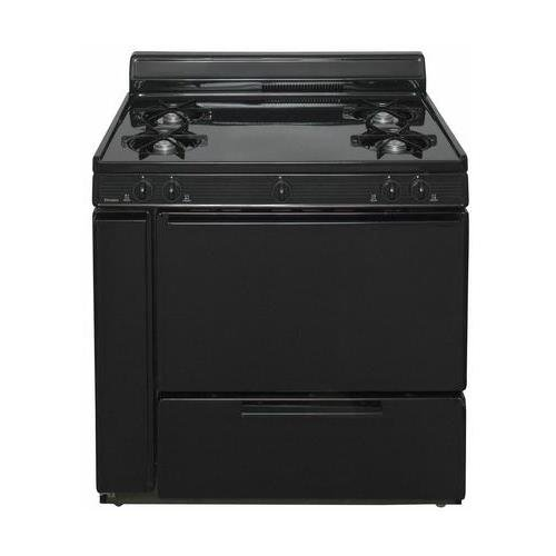 36 gas range black - 7