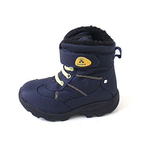 Kamik , {Chaussures premiers pas pour bébé (garçon) Bleu marine
