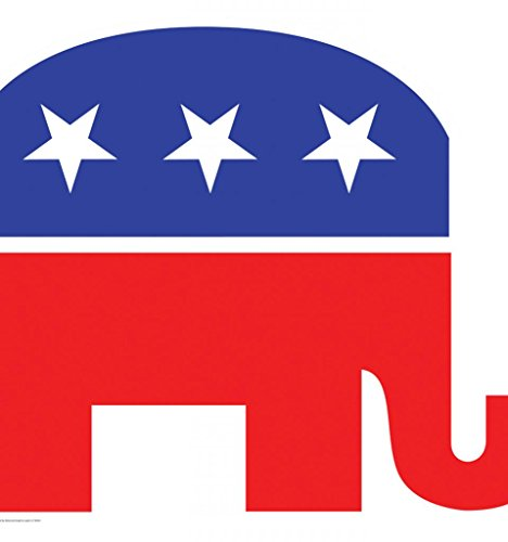 The Republican Elephant (Republican Elephant - Advanced Graphics Life Size Cardboard Standup)