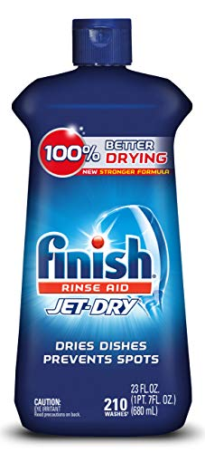 Finish Jet-Dry Rinse Aid, 23oz, Dishwasher Rinse Agent & Drying Agent (Maytag Washers Reviews Best Ones)