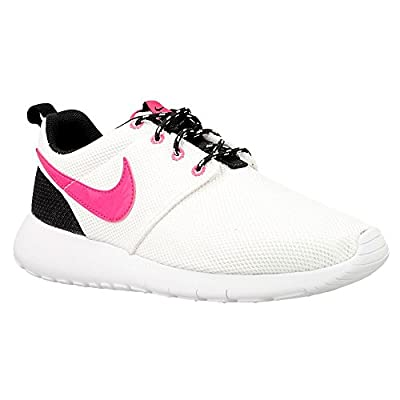 NIKE Rosherun (GS) Trainers 599729 Sneakers Shoes (4.5 D(M) US, White Hyper Pink Anthracite 104)
