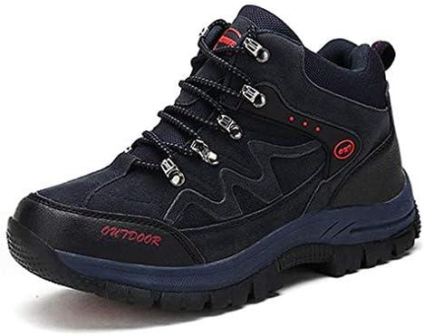 ウォーキングシューズ ハイキングシューズ メンズ スニーカー シューズ 靴 レースアップ トレッキングシューズ ハイカット 登山靴 耐摩耗性 遠足 幅広 歩きやすい 防滑クライミングシューズスポーツシューズ