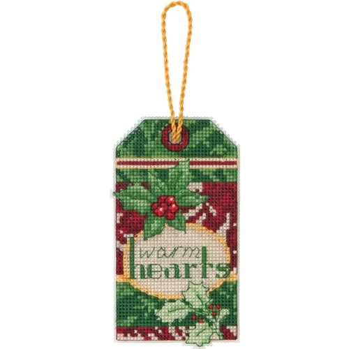 Dimensions Counted Cross Stitch, Warm Hearts Ornament