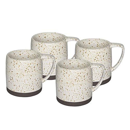 (Nester White Set of 4 Mugs)