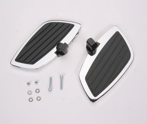 Cobra Swept Passenger Floorboards for 2008-2009 Honda Shadow Aero 750 and 2007-