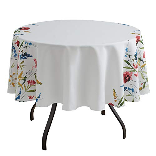 Benson Mills Wild Flower Indoor/Outdoor Spillproof Tablecloth (70