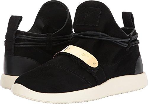Giuseppe Zanotti Heren Enkele Lage Top Sneaker Zwart