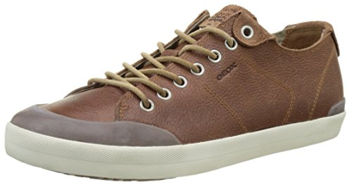 Brown Cotton Sneaker Men's M Smart Geox Fashion 74 CFYqaBw