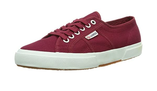 Superga 2750 Cotu Classic, Unisex Adults Low-Top Sneakers, Red (Scarlet S104), 8.5 UK (42.5 EU)