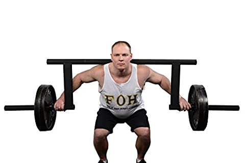Cambered Squat Bar by Force of Habit- Olympic 2