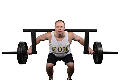 Fixed Yoke (Cambered Squat Bar by Force of Habit- Olympic 2