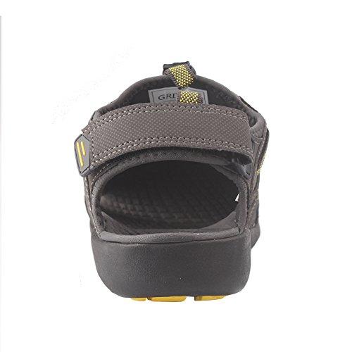 da Sandali da Dry uomo esterni Sport da Nero Toecap grandi dimensioni Quick Verde estate Arancione sciare di Sandali Giallo GRITION Protective Scarpe qwSEMC4q