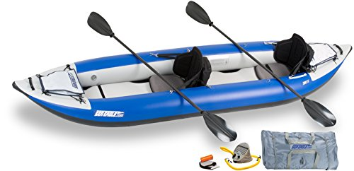 Sea Eagle Inflatable 380X Explorer Kayak Pro Carbon Package