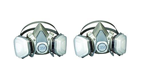 3M 07193 Dual svbzz Cartridge Respirator Assembly,Organic Vapor/P95, Large (2 ()