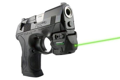 LaserMax Genesis Rail Mounted Rechargeable Green Laser