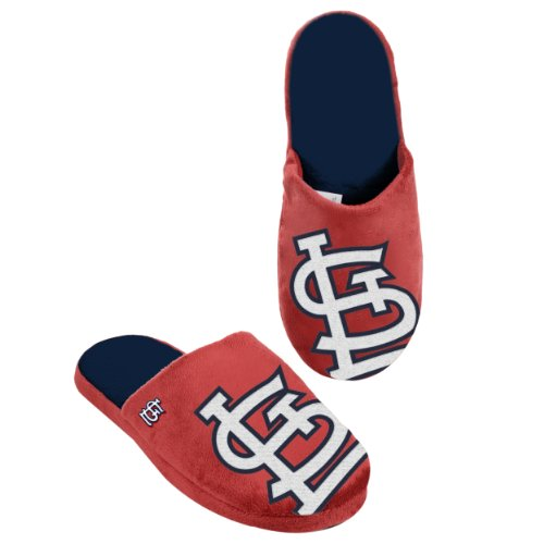 Slide Cardinals Louis (St. Louis Cardinals 2011 Big Logo Men Slipper Tpr Sole Medium)