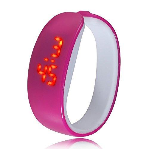 Fusine™ Bracelet Design LED Unisex Digital Sports Watches- Dolphin Design (Violet) (B079HPTR8K) Amazon Price History, Amazon Price Tracker