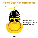 wonuu Rubber Duck Toy Car Ornaments Yellow Duck Car
