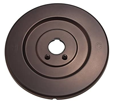 Fit Moen 16090 Chateau Collection Replacement Escutcheon for One-Handle Tub and Shower Faucets, Oil Rubbed Bronze Finish - By PlumbUSA #32342BOB