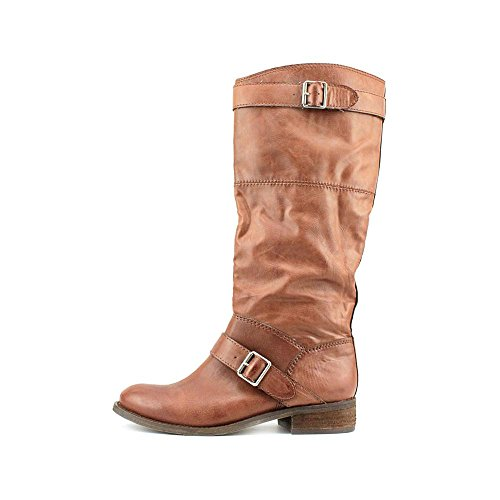 DV By Dolce Vita Twisp Damen Braun Mode-Knie hoch Stiefel Neu/Display EU 41,5