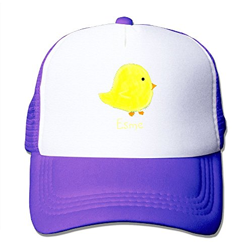 XiaoHans Momen's Esme Baby Chick Shopping Beach Fashion Travel Purple Mesh Caps Adjustable - Miami Shopping Centres
