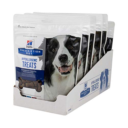 - Hill's Prescription Diet Hypoallergenic Canine Treats - 6 Pack 12oz. Bags (6 Bags per Order!)