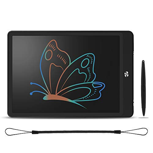 PEMENOL LCD E-Writing Tablet 10 Inch Colorful Electronic Write Board Doodle pad for Kids eWriter for Office Home
