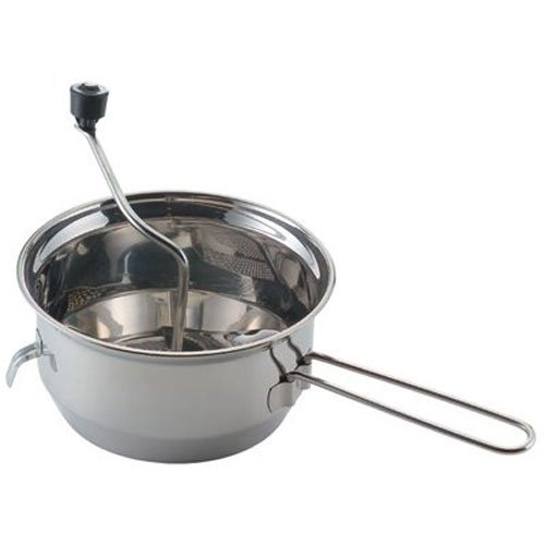 Mirro 50025 Foley Stainless Steel Food Mill Cookware, 3.5-qu