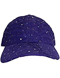 Glitter Sparkly Sequin Adjustable Baseball Cap Hat for Ladies 69104e906363