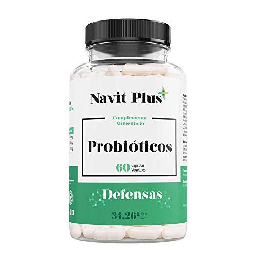 Probióticos – 10 mil millones de UFC. Nueva fórmula potenciada de amplio espectro para mejorar la flora intestinal y el sistema inmunológico. 60 cápsulas vegetales. Ingredientes de máxima efectividad.