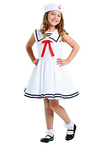 (Sailor Girls Costume Medium)