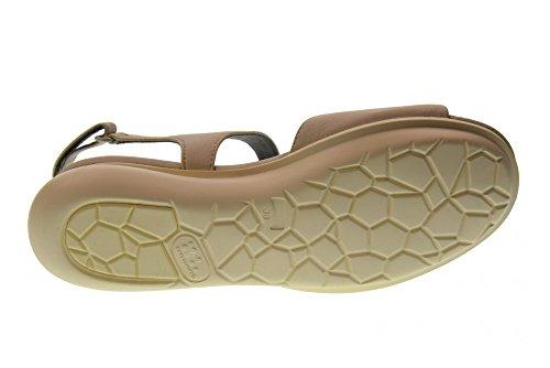 Chaussures De Campeur Femme Sandales Coins K200301-009 Crème De Panna Ballon