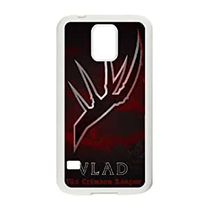 High Quality Specially Designed Skin cover Case games Vladimir Logo LOL Samsung Galaxy S5 Cell Phone Case White