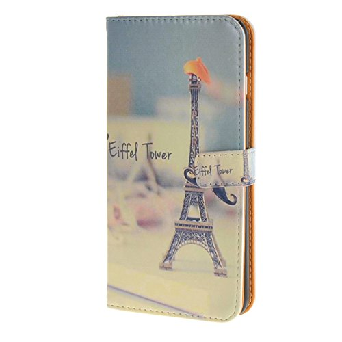 """MOONCASE Case für iPhone 6 (4.7"""") Tasche Flip Leder Schutzhülle Etui Case Cover Hülle Schale / a09"""