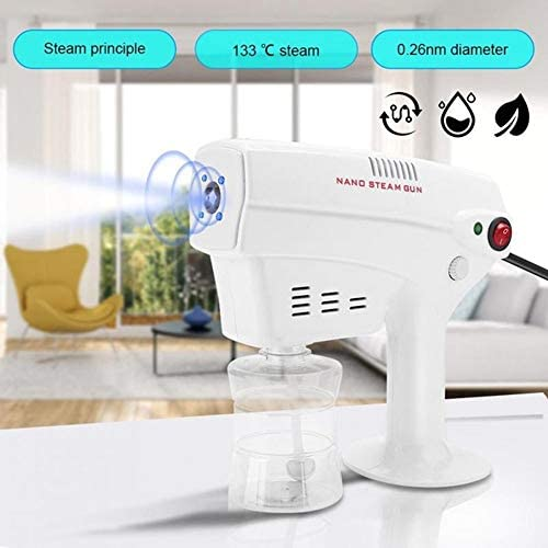 HSART Hair Face Steamer Ultra Fine Aerosol Water 1200W 300ML Steamer Humidifier Hair Care Tool Nano Steam Gun Spray Machine