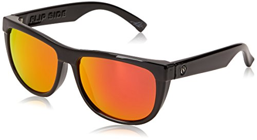 Electric Visual Flipside Gloss Black Sunglasses