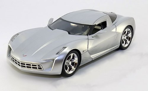 Galleon 2009 Chevrolet Corvette Stingray Concept Diecast Model Car