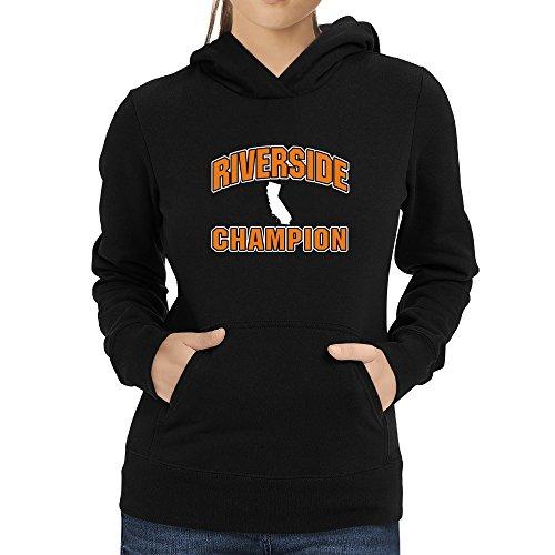 Riverside Riverside donna Felpa con da champion cappuccio Eddany dqYCwd