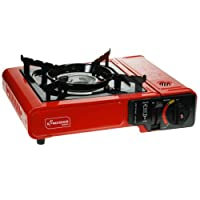 Yellowstone Portable Gas Stove - Black
