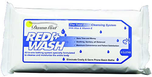 Redi-Wash, 8 Count Package 50 pcs sku# 676061MA (Wash Redi)