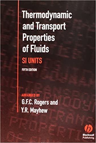 Thermodynamic and Transport Properties of Fluids: S  I  Units