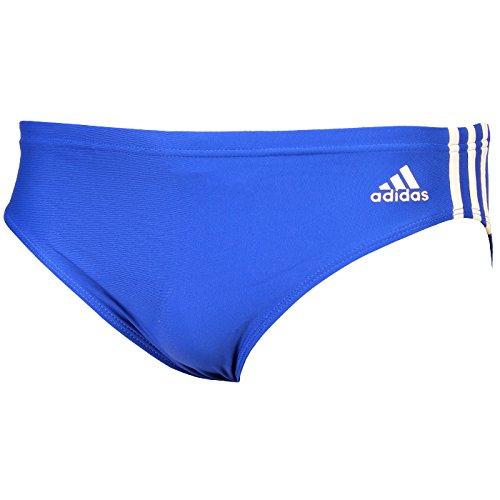 Adidas Jungen 3-Stripes Trunks - Royal Blue / Weiß