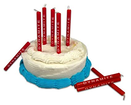 Amazon Birthday Candle Set Dynamite Stick Of 10